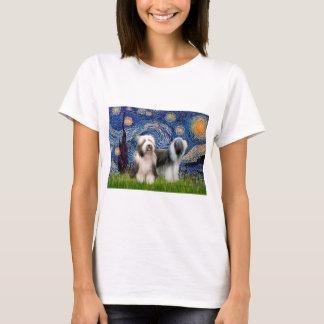 T-shirt Paires 1 de Beardie - nuit étoilée