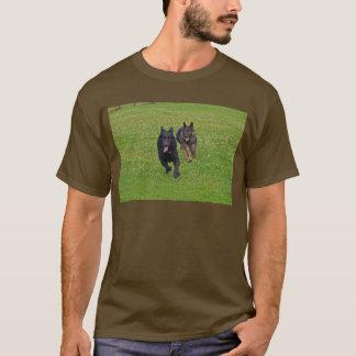 T-shirt Paires de bergers allemands