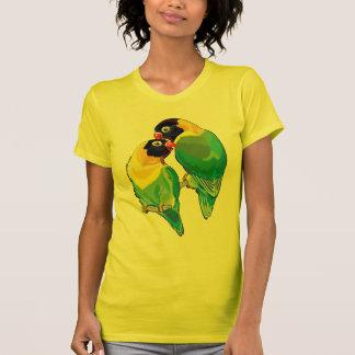 T-shirt paires de perruches masquées