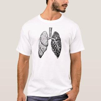 T-shirt paires de poumons