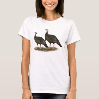 T-shirt Paires sauvages orientales de dindes
