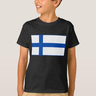 T-shirt Paita de lippu de Suomen - le drapeau de la