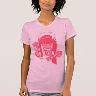 """T-shirt Paix, amour et Bubblegum de """"Shokio"""""""