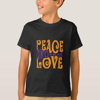 T-shirt Paix, amour et ukulélé