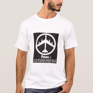 T-shirt Paix la manière démodée