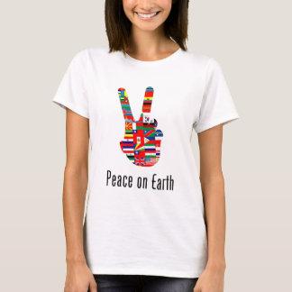 T-shirt Paix sur terre