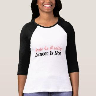 T-shirt Pâle est joli, le Cancer n'est pas chemise