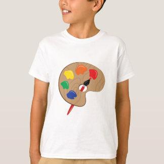 T-shirt Palette d'artiste