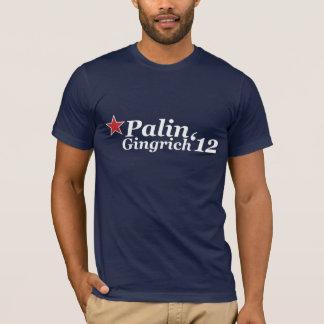 T-shirt Palin Gingrich '12