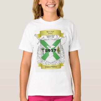 T-shirt Palmer/T-shirt blanc de la jeunesse de crête de