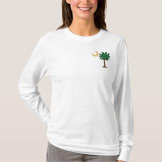 T-shirt Palmetto de poche de Noël