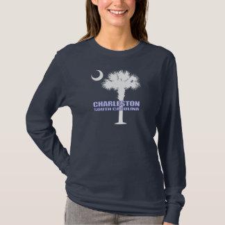 T-shirt Palmetto de Sc et croissant (Charleston)