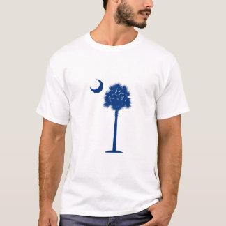 T-shirt Palmetto et croissant de lune de la Caroline du