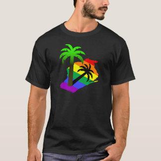 T-shirt Palmier du Wisconsin