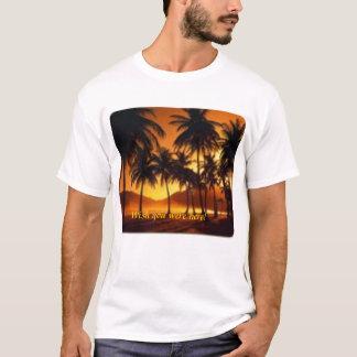 T-shirt Palmiers la nuit Barbade