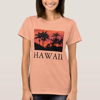 T-shirt Palmiers silhouettés, Hawaï