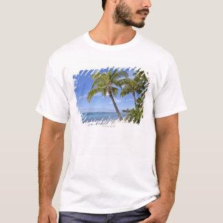 T-shirt Palmiers sur la plage en Hawaï