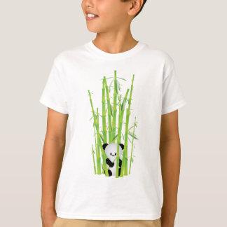 T-shirt Panda de bébé dans la forêt en bambou