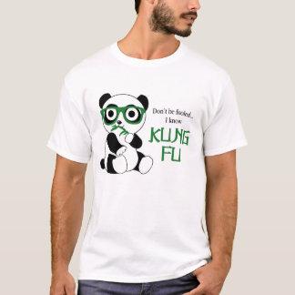 T-shirt Panda de Kung Fu