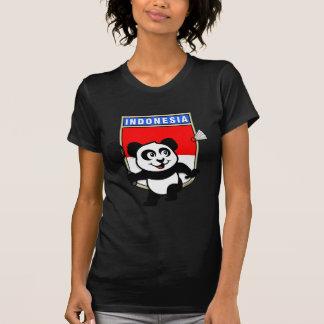T-shirt Panda de l'Indonésie de badminton