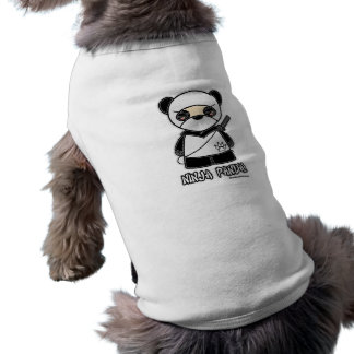 T-shirt Panda de Ninja ! Habillement d'animal familier
