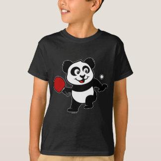 T-shirt Panda de ping-pong