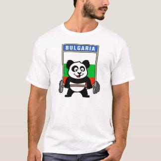 T-shirt Panda d'haltérophilie de la Bulgarie