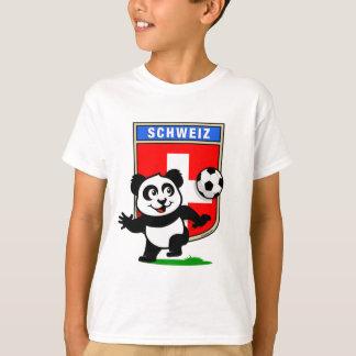 T-shirt Panda du football de la Suisse
