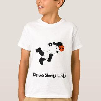 T-shirt Panda trempant de claquement de bande dessinée