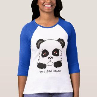 T-shirt Panda triste