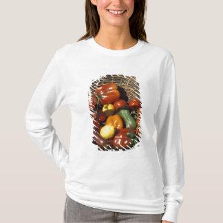 T-shirt Panier des fruits et légumes sur l'endroit