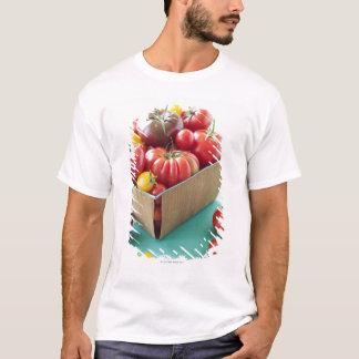 T-shirt Panier des tomates d'héritage