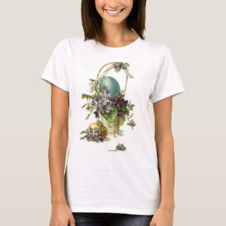T-shirt Panier vintage de Pâques