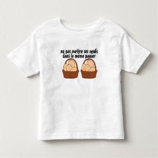 t-shirt paniers oeufs