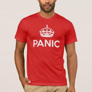 T-shirt PANIQUE : Gardez le calme et continuez charrient