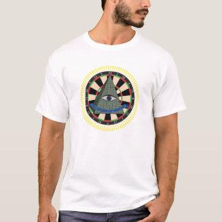 T-shirt Panneau de dard d'Illuminati