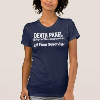 T-shirt Panneau de la mort - surveillant de plancher de