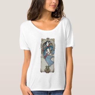 T-shirt Panneau de Nouveau d'art de femme de merveille
