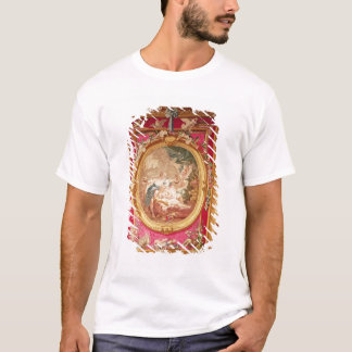 T-shirt Panneau de tapisserie dépeignant le cupidon et la