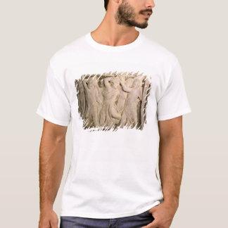 T-shirt panneau No.II de Courrier-restauration du pul