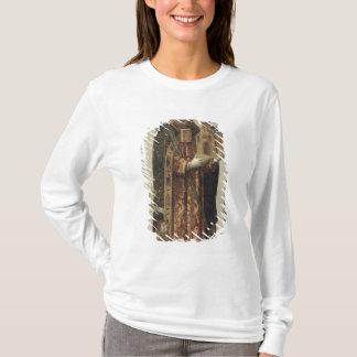 T-shirt Panneau votif dépeignant St Ansgar, 1457