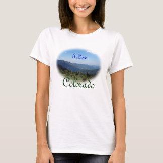 T-shirt Panorama de montagnes rocheuses du Colorado