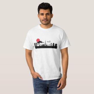 T-shirt Panorama de ville de Tokyo