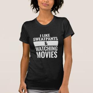 T-shirt Pantalon de survêtement et films