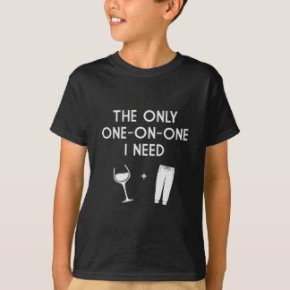 T-shirt Pantalon de survêtement et vin