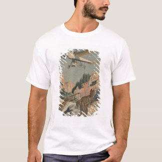 T-shirt Panthères de chasse d'un avion dans le Texas
