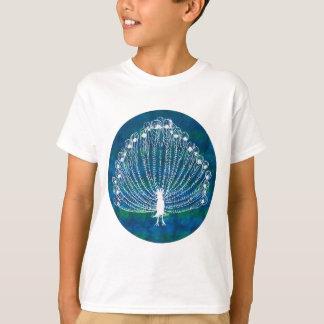 T-shirt Paon blanc