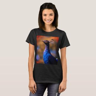 T-shirt Paon bleu
