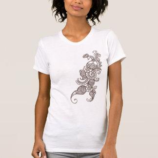 T-shirt paon de henné