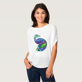 T-shirt Paon galaxie
